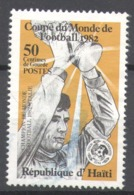 Haiti 1983 Used Football, Soccer, World Cup - Spain 1982 - Haïti