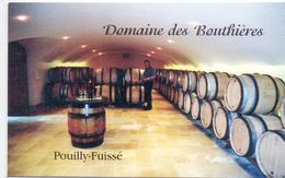 Visitekaartje - Carte Visite - Wijn Vin - Domaine Des Bouthières - Solutré - Pouilly - Visiting Cards