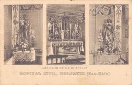 67 - MOLSHEIM / HOPITAL CIVIL - INTERIEUR DE LA CHAPELLE - Molsheim