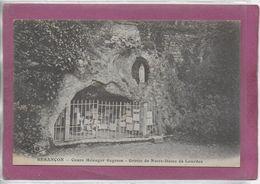 25.-   BESANÇON .-  Cours Ménager Sagesse -  La Grotte De Notre Dame De Lourdes - Besancon
