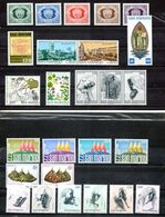 San Marino 1977 - Annata 1977 Sottofacciale MNH ** Leggere Descrizione - Saint-Marin