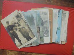 JOLI LOT 26 CARTES ARMEE BELGE (MAJORITES) - Guerra 1914-18