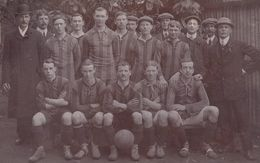 Unidentified Football Team Antique Postcard - Football