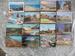 LOT   DE  3200  CARTES  POSTALES  ETRANGERES - 500 Postcards Min.