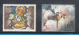 Estonia 2003 - Natale Nuovi - - Estonia