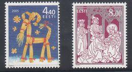 Estonia 2005 - Natale Nuovi - - Estonia
