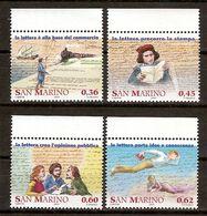 """(Fb).San Marino.2005.""""Storia Della Posta"""".Serie Completa Nuova,integra (120-20) - San Marino"""