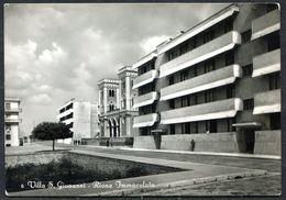 CV3265 VILLA S. GIOVANNI (Reggio Calabria RC) Rione Immacolata, FG, Viaggiata 1955 Per Torino, Buone Condizioni - Reggio Calabria