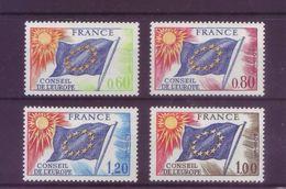 Francia 1975 - Consiglio Di Stato, 4v MNH** Integri - Francia