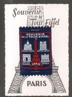 75, Paris, Souvenir De La Tour Eiffel, Sacré Coeur, Notre Dame, Arc De Triomphe, Opera, - Tour Eiffel