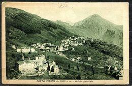 CV3252 COSTA IMAGNA (Bergamo BG) Veduta Generale, FP,  Viaggiata 1930 Per Lecco, Buone Condizioni - Bergamo