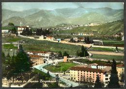 CV3261 CAPRINO BERGAMASCO (Bergamo BG) Veduta Panoramica, FG, Viaggiata 1962 Per La Svizzera, Pieghine, Comunque Buone C - Bergamo