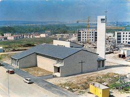 """¤¤   -  PONTOISE  -  L'Eglise Des Nouveaux Quartiers """" Saint-Pierre-des-Louvrais """"      -   ¤¤ - Pontoise"""