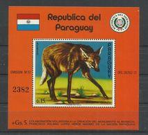 PARAGUAY, HOJA BLOQUE  AEREA  MNH  ** - Paraguay