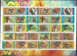 Russia, USSR, 1991, Mi. 6229-43, Y&T 5888-5902, Sc. 6031-45, SG 6283-97, Folk Holidays, MNH - 1923-1991 USSR