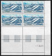 TERRES AUSTRALES PA N° 66** GEOLOGIE COIN DATE DU 07/10/81 - Unused Stamps