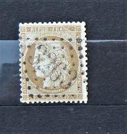 05 - 20 // France N° 59 - Ceres 15 C Bistre Oblitération GC 3263 - Sains - Aisne - 1871-1875 Cérès