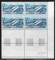 TERRES AUSTRALES PA N° 66** GEOLOGIE COIN DATE DU 06/10/81 - Unused Stamps
