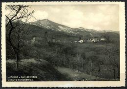 CV3253 AIZURRO (Lecco LC) Veduta Panoramica, FG,  Viaggiata 1952 Per Spotorno, Francobollo Parzialmente Asportato, Buone - Lecco
