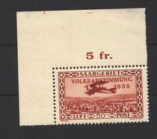 Saar,Nr.195 I,Marke Xx - 1920-35 League Of Nations
