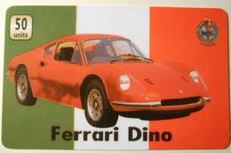 Carta Telefonica Ferrari Dino - Sport