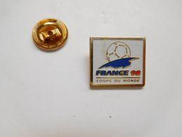 Beau Pin's , Football , Coupe Du Monde France 98 - Fútbol