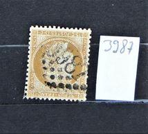05 - 20 // France N° 59 - Ceres 15 C Bistre Oblitération GC 3987 - St Victor L'Abbaye - Seine Inferieure - 1871-1875 Cérès