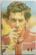 Carta Telefonica Ayrton Senna - Deportes