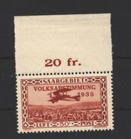 Saar,Nr.195 II,xx - 1920-35 League Of Nations