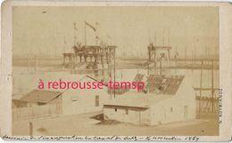 TRES RARE-EGYPTE 16 Novembre 1869-inauguration Canal De Suez-photographe Nikoaaoy Koymianoy- Nicolas Koumianos - Old (before 1900)