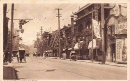 China - SHANGHAI - Old Shops In Nanking Road - SEE STAMP - Publ. Mactavish & Co. - Chine