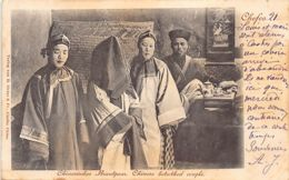China - CHEFOO Yantai - Chinese Betrothed Couple - Publ. H. Siestas & Co. - Chine