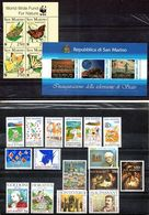 San Marino 1993 - Annata 1993 Completa Sottofacciale MNH ** Leggere Descrizione - Saint-Marin