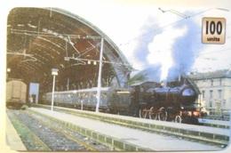 Carta Telefonica Treni - Trains