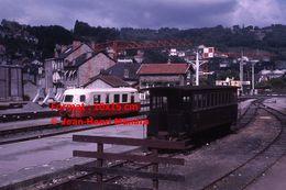 ReproductionPhotographie D'une Vue D'un Train X248 SNCF POC Et Un Ancien Wagon En Corrèze En 1966 - Reproductions