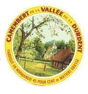 ETIQUETTE De FROMAGE.. Fabriqué En NORMANDIE.. CAMEMBERT De La VALLEE De La DURDENT (76) - Cheese