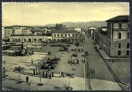 CV3278 IGLESIAS (CI) Piazza Sella, FG, Viaggiata 1956 Per Lecco, Buone Condizioni - Iglesias