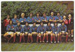 Rugby Equipe De France 1er Mars 1975 Publicité Duval Photo F. Esparza - Canon - Rugby