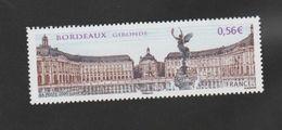 """FRANCE / 2009 / Y&T N° 4370 ** : """"Touristique"""" (Bordeaux - Gironde) Place Des Quinconces & Colonne Des Girondins X 1 - Unused Stamps"""