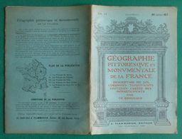 Brochure Géographie De La France De Ch. Brossard - Seine Et Marne I - Meaux, Château Landon, Champeaux, ... - Géographie