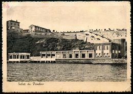 CV3259 PIOMBINO (Livorno LI) Veduta Del Litorale, FG, Viaggiata 1944 Per Lecco, Buone Condizioni - Livorno