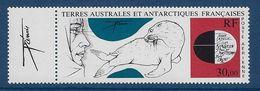 """TAAF Aerien YT 89 (PA) """" Antarctique """" 1985 Neuf** Vignette à Gauche - Corréo Aéreo"""