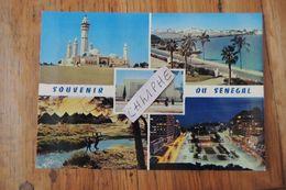SENEGAL - SOUVENIR DU SENEGAL - 5 VUES - Sénégal