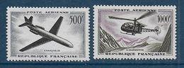 France - P.A. N° 36 Et 37 *  - Cote : 69 € - 1927-1959 Nuovi