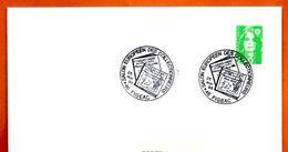 46 FIGEAC  SALON DES COLLECTIONNEURS 1995 Lettre Entière N° FG 720 - Marcofilie (Brieven)