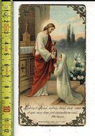 KL 5610 - ENTREZ O JESUS - SOUVENIR DE COMMUNION SOLENNELLE DE ALBERT DECAMP A BOESCHEPE 1928 - Andachtsbilder