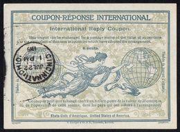 ETATS-UNIS : COUPON-REPONSE INTERNATIONAL , A VOIR .R 7 - Unclassified