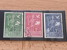 Lot N°927-929 Oblitérés TB Idée Européenne 1953 - Used Stamps