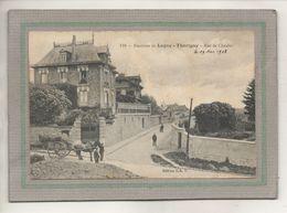CPA - Environs De LAGNY (77) THORIGNY - Aspect De La Rue De Chaalis En 1908 - Autres Communes