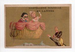 - CHROMO Ate LANNES - CHAPELLERIE NOUVELLE - TOULOUSE - CAS DE DIVORCE - - Other